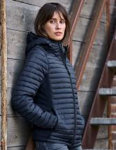 Ladies` Hooded Aspen Crossover Jacket